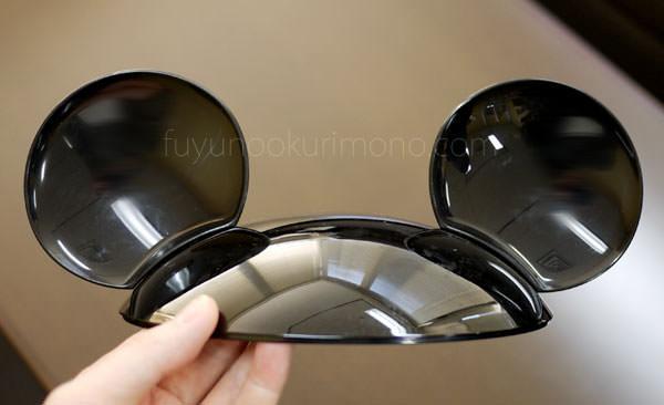 ベルメゾン ディズニーおせち ミッキーシルエット三段重 耳が付いた蓋が可愛い