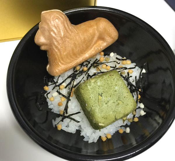 三越百貨店 お歳暮 ライオン最中茶漬け  ライオンの最中