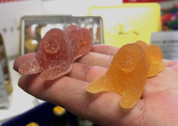 彩果の宝石 ライオン像の形をしたフルーツゼリー