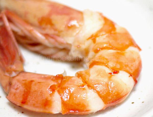 「セコムの食」の手作り和風おせち お試しセット 海老酒蒸し拡大画像