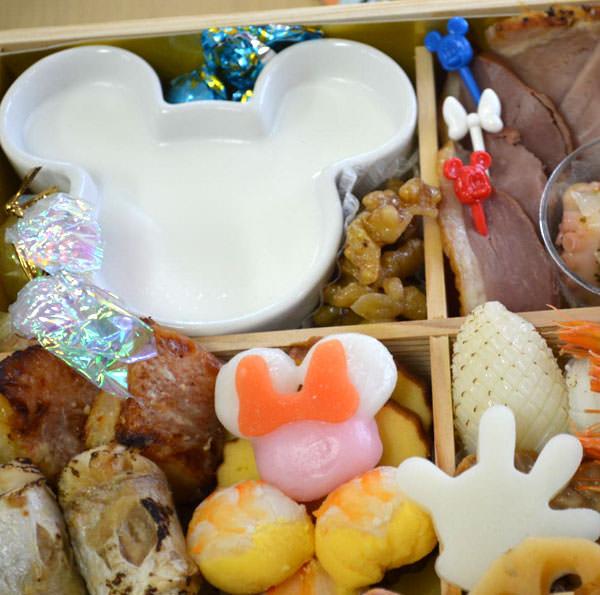 ミッキーマウスのプリンや、ミニーマウスのお餅