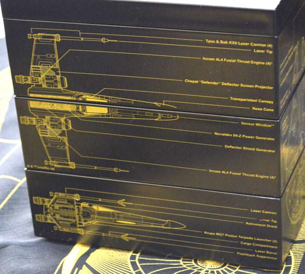 側面のデザイン Xウィング・スターファイター