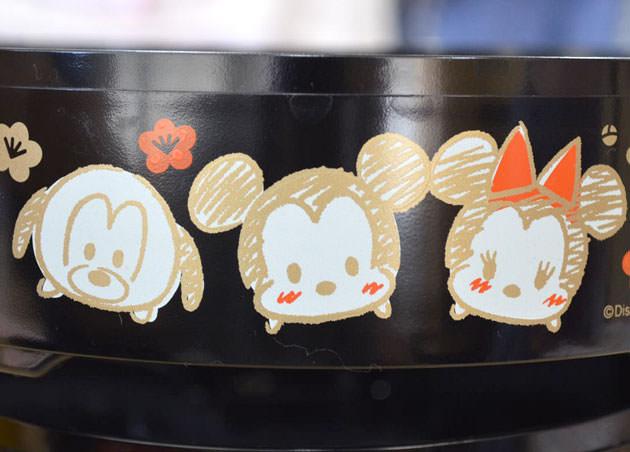 側面のデザイン ミッキーマウス