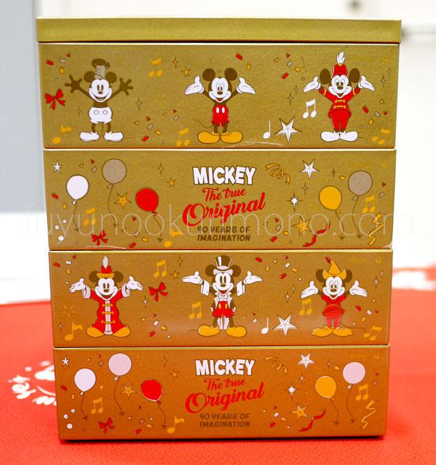 側面デザインにも歴代ミッキーマウス