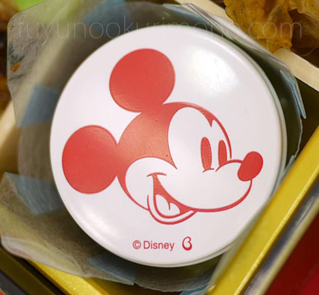 ミッキーマウスをデザインした珍味入れ