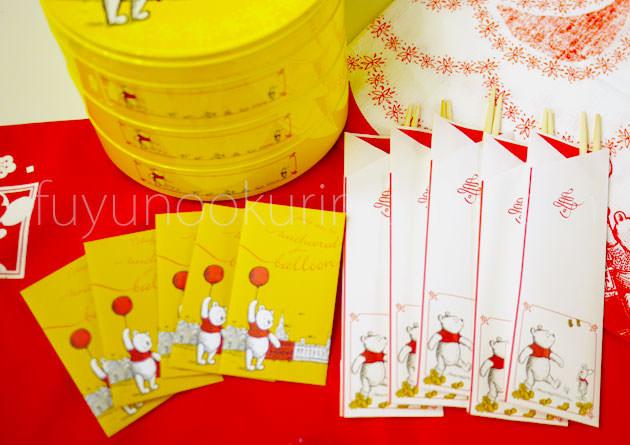 付属品の祝い箸とポチ袋
