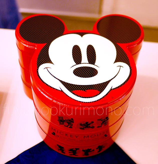 ミッキーマウス三段重 製品画像