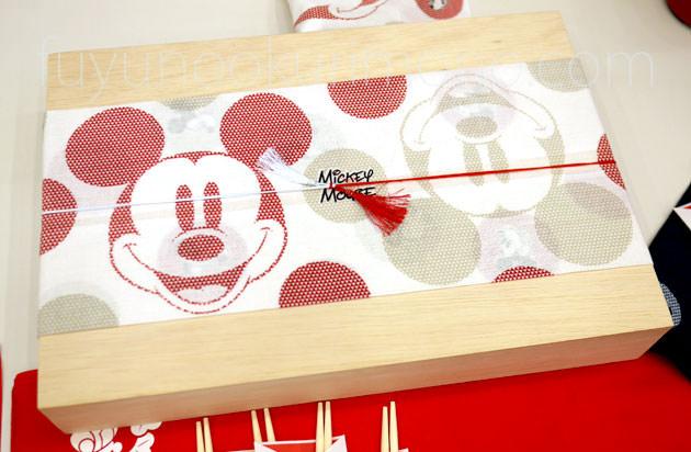 「ミッキーマウス特段重」の重箱