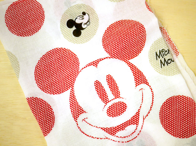 「ミッキーマウス特段重」手ぬぐい