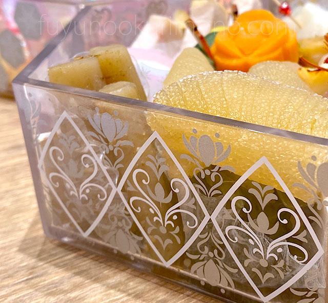 アナと雪の女王 三段重 重箱が半透明
