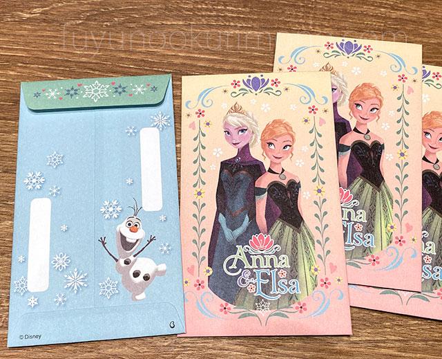 アナと雪の女王 三段重 ぽち袋
