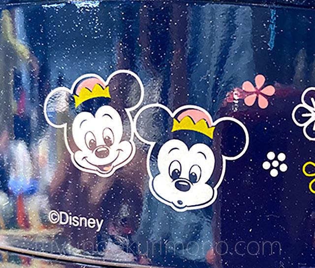 側面デザインされたミッキーマウスの甥っ子 「モーティー&フェルディ」