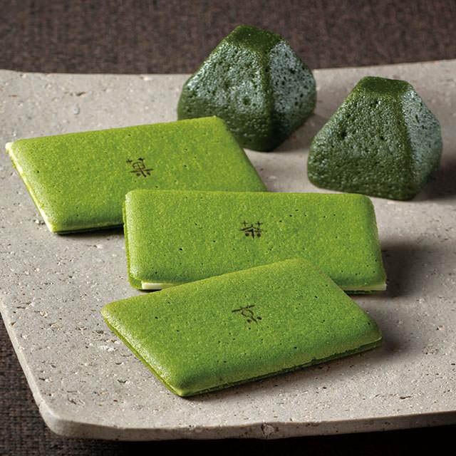 京都北山 逸品合わせ 茶の菓と生茶の菓