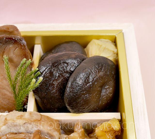 椎茸柚子煮・味付竹の子